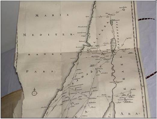 Хадриан Реланди (Риланди) о Палестине в 1695